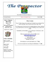 2006-03 PGPI Newsletter