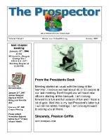 2007-01 PGPI Newsletter