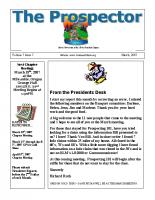 2007-03 PGPI Newsletter