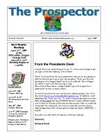 2007-04 PGPI Newsletter