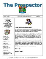 2007-08 PGPI Newsletter