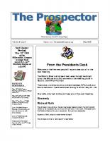 2008-05 PGPI Newsletter