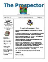 2008-08 PGPI Newsletter