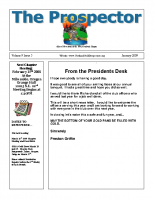 2009-01 PGPI Newsletter