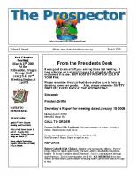 2009-03 PGPI Newsletter