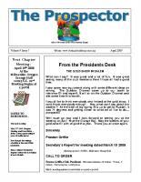 2009-04 PGPI Newsletter