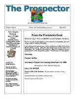2009-05 PGPI Newsletter