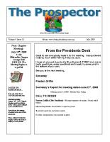 2009-07 PGPI Newsletter