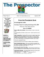 2009-09 PGPI Newsletter