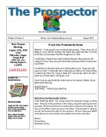 2010-08 PGPI Newsletter