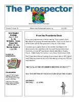 2011-07 PGPI Newsletter