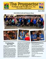2018-04 PGPI Newsletter