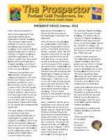 2018-10 PGPI Newsletter